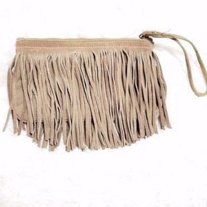AEO | Fringe Wristlet Change Purse